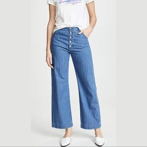 Anthro {M.i.h. Jeans} Paradise High Rise Pants